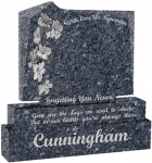 Cunnigham lower lavey headstone