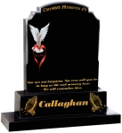 CALLAGHAN GRAVESTONE DOVE AND LOVE 372