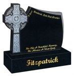 Fitzpatrick Gravestone A Dear Husband, Dad And Brother