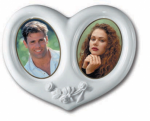 DOUBLE OVAL CERAMIC PHOTO